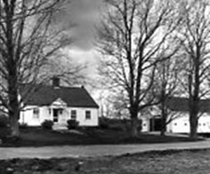 House at Woodman Horticultural Farm, taken for centennial use, May 1966.
