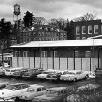 Campus Bookstore parking 1960s