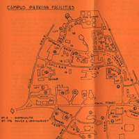 Parking map 1976