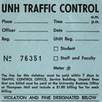 Parking ticket 1975