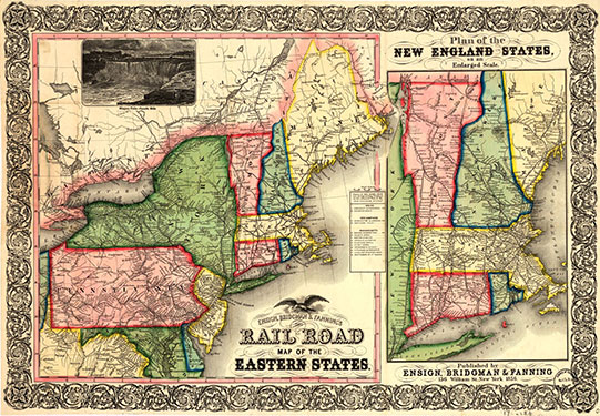 Maps Geospatial Data University Of New Hampshire Library - Road map of eastern united states