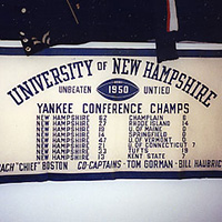 1950 Yankee conference banner