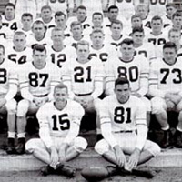 1950 Football team photo
