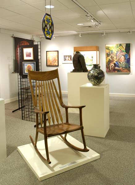Rocking Chair in Exhibit