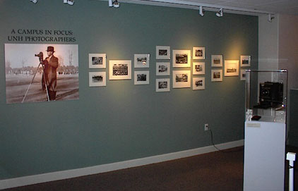 Photography Exhibit Wall