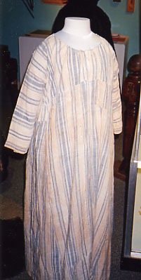 homespun gown