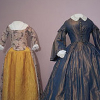 18th and 19th century gowns