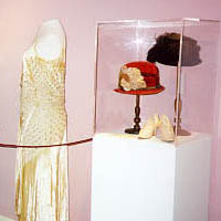 Early 20th century dress, hats, and shoes